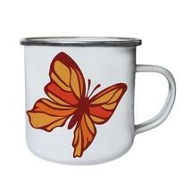 Butterfly Retro,Tin, Enamel 10oz Mug j458e - $246,74 MXN
