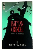 Batman Grendel Devil's Riddle DC 1993 NM Prestige Format Matt Wagner Hun... - $4.90