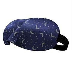 Unique and novel 3D Design Sleep Eye Mask Assure No Pressure-Blue - $13.09