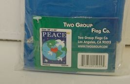 Two Group Flags CO 15044 Peace Decorative Flag All Weather Polyester image 5