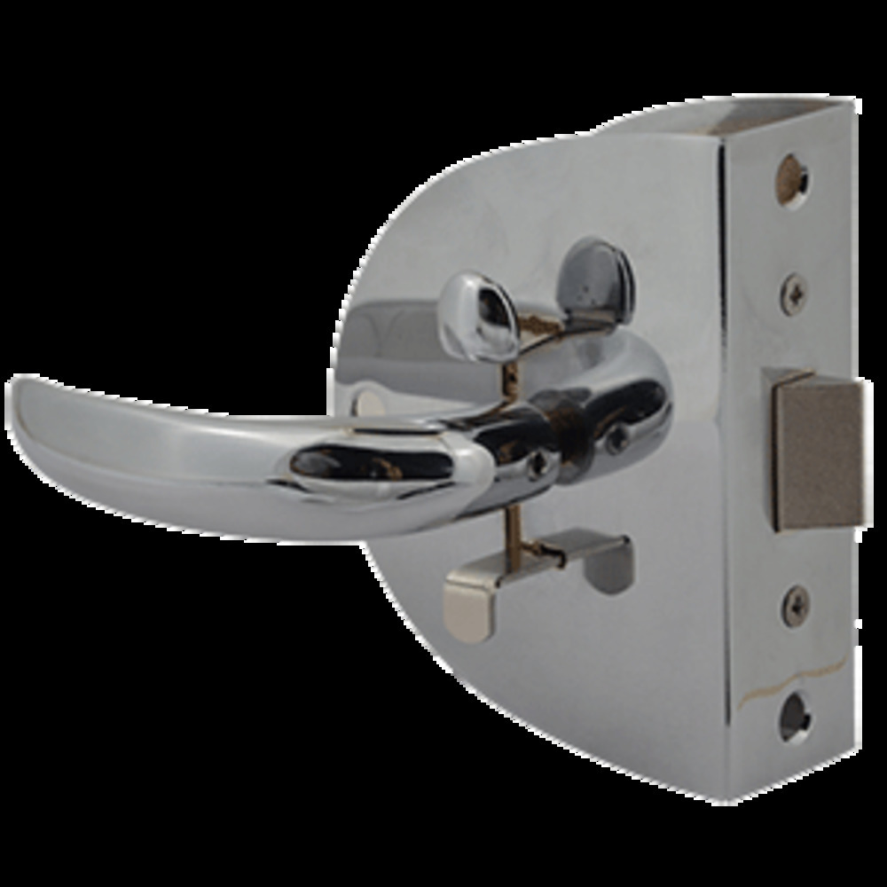 Primary image for Southco Compact Swing Door Latch - Chrome - Non-Locking