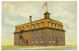 St Mary's Catholic School Soo Michigan 1910c postcard - $6.44