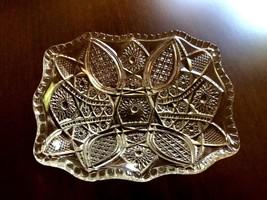 Vtg Small Pressed Glass Bowl Dish Bon Bon Candy Nuts - $19.31