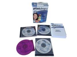 The Print Shop Deluxe Version 22 - Windows XP/2000 - 4 CDs - $17.10
