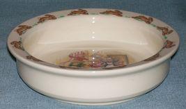 Royal Doulton Bunnykins- Baby Plate /Child's Bowl -Home Decorating Wallpaper EUC image 4