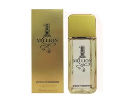 1 MILLION By Paco Rabanne 3.4 Oz After Shave Lotion for Men (New In Box) - $44.95
