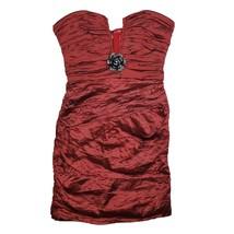 $398 NEW BCBGMAXAZARIA Women's Size 6 Tristina Strapless Cocktail Dress ... - $75.69