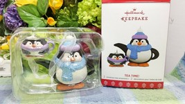 Hallmark Tea time Penguin ornament 2017 2nd in series - $49.75