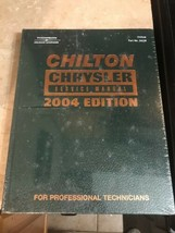 New Chilton Chrysler Service Repair Manual 2004 Professional Edition Boo... - $23.75