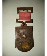 1940 Manchuria National Census Memento Medal with Ribbon and Pin - $71.25