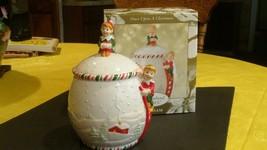 JAR KATHY IRELAND CHRISTMAS  PIXIES GORHAM LID NEW - $14.99