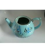 Vintage Sadler Blue Floral Tea Pot Made in England #1604 - $24.99