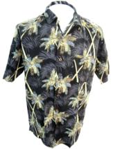 JOE MARLIN Men Hawaiian ALOHA shirt pit to pit 24 XL cotton rayon luau c... - $14.68