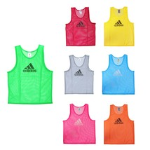 Adidas Training 14 Team Pinnies Scrimmage Vest Soccer Football Multi-Color - $15.99
