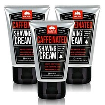 Pacific Shaving Company Caffeinated Shaving Cream - Helps Reduce Appearance of R