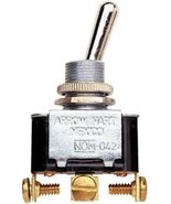 Buss Fuses Toggle Switch On-Off-On 15A 12V Heavy Duty BP/STK - $10.95