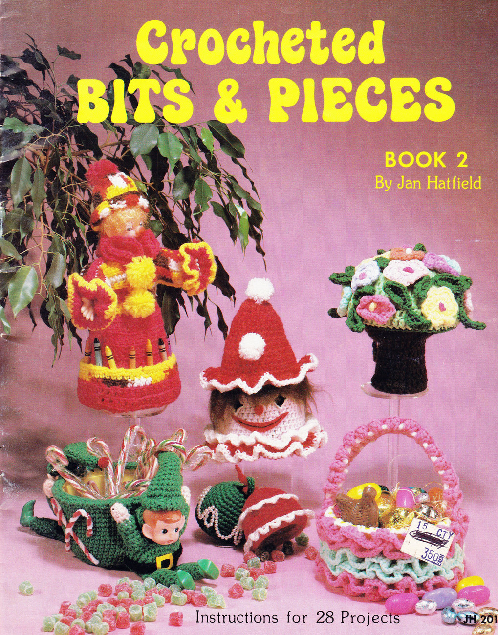 Primary image for CROCHETED BITS & PIECES JAN HATFIELD DOLLS TOYS & MORE!