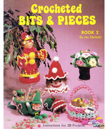 CROCHETED BITS & PIECES JAN HATFIELD DOLLS TOYS & MORE! - $5.95