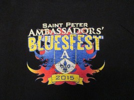 2015 Saint Peter Ambassadors Blues music Minnesota MN festival T Shirt Size XL - $13.99