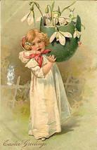Easter Greetings Paul Finkenrath of Berlin 1908 Post Card - $7.00