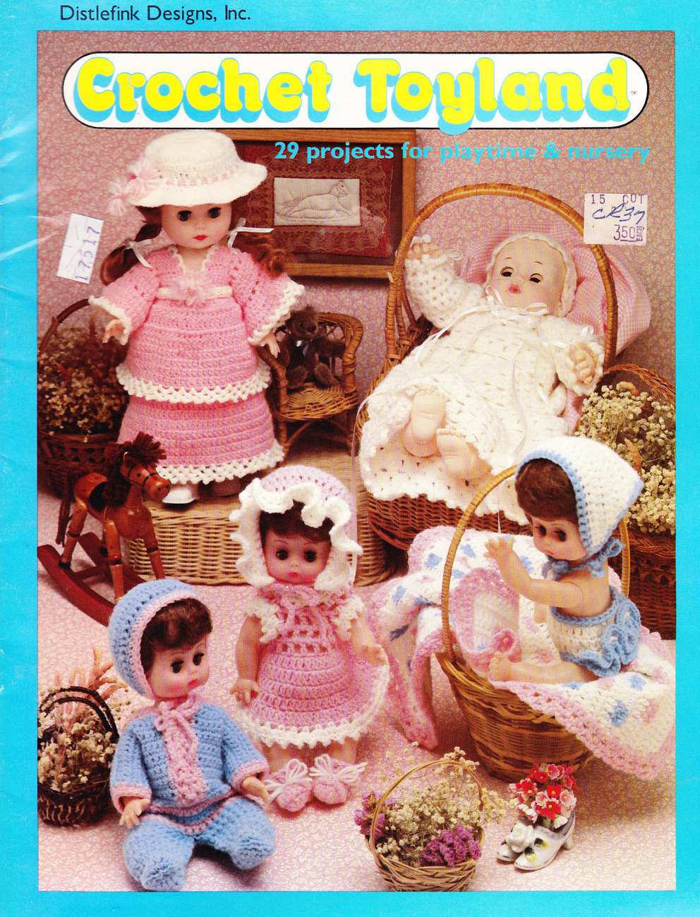 Primary image for CROCHET TOYLAND 29 DOLLS AND TOYS
