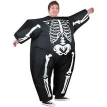 Inflatable Skeleton Adult Halloween Costume  - $52.36