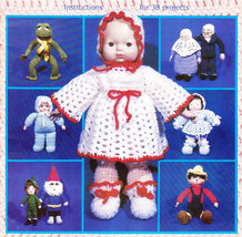 JUNE'S KITCHEN & DOLL BOOK CROCHET ORIGINALS - $5.95