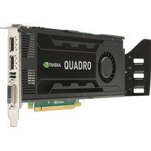 3GB HP Quadro K4000 GDDR5 PCI Express 2.0 x16 2x Displayports DVI Graphi... - $156.56