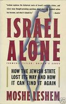 Israel Alone by Leshem, Moshe - $7.99