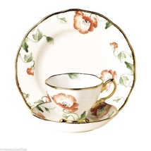 Royal Albert 100 Years Teaware Teacup, Saucer, Plate 1970 NEW IN THE BOX - $88.83