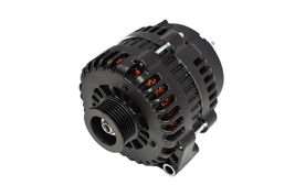 GM AD244 Style High Output 220 Amp Alternator Black 4 Pin LS image 3