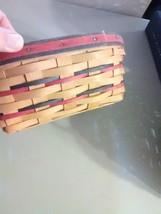 Longaberger Handwoven Eight Sided Basket - 1999 image 2