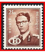 Belgique 1958 King Baudouin ( Clé Valeur) Railroad Officiel Sc#O59 Mlh C... - $5.15