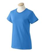 Iris Blue 3XL XXXL G200L Gildan Ladies ultra cotton T-shirts  - $6.30