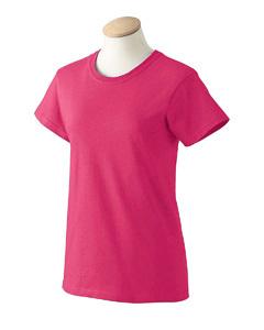 Iris Blue 3XL XXXL G200L Gildan Ladies ultra cotton T-shirts