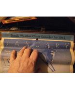 1941 Rexall Calendar Raton, N.M. - $9.99