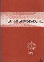 Sathya Sai Baba spricht. Band 1 - $5.99