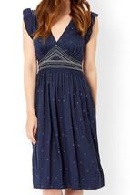MONSOON By JESSICA SIMON Tilly Embroidered Dress Size UK 14 BNWT - $71.80