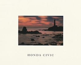 1990 Honda CIVIC sales brochure catalog US 90 DX LX EX Si 4WD - $9.00