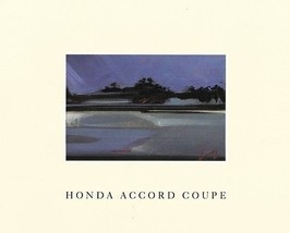 1990 Honda ACCORD COUPE sales brochure catalog US 90 DX LX EX - $6.00