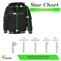 Vertical Sport Men's Sherpa Fleece Lined Two Tone Zip Up Hoodie Jacket image 2