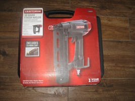 PROFESSIONAL GRADE NEW NIB 16 GAUGE CRAFTSMAN FINISH NAILER 918803 SEARS - $140.24