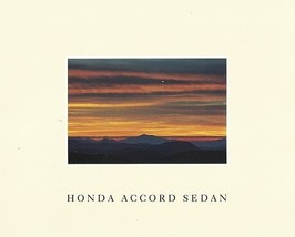 1990 Honda ACCORD SEDAN sales brochure catalog US 90 DX LX EX - $7.00
