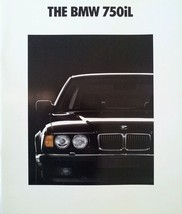 1990/1991 BMW 750iL V12 sales brochure catalog US 91 HUGE - $15.00