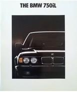 1990/1991 BMW 750iL V12 sales brochure catalog US 91 HUGE - $15.00