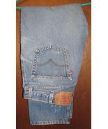 Men's Levi's 501 XX Button Fly Blue Jeans Size 40x32 #2 - $15.99