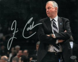 Jim Calhoun signed Connecticut Huskies 8x10 Photo (arms crossed) (3X Nat... - $24.95