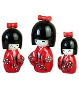 George Jimmy 3PCS Japanese Geisha Doll Sushi Restaurant Decoration Ornam... - $27.70