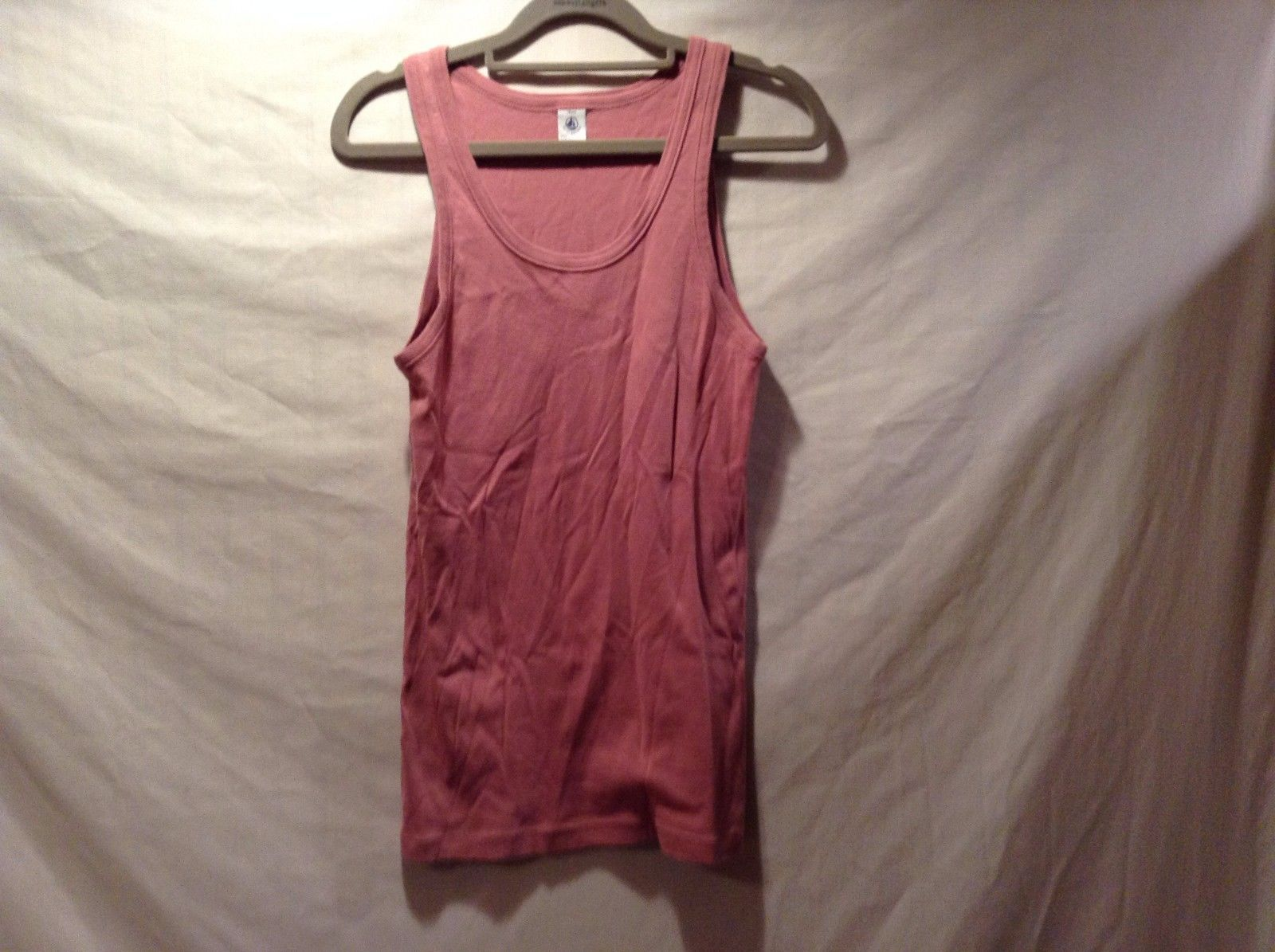 Petit Bateau Pink Tank Top Made In France
