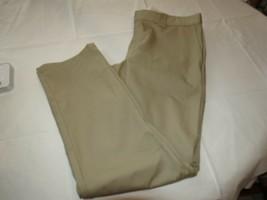 Mens Dickies Work Pant Slim Fit Tapered Leg Pants khaki 36 X 32 NWT - $31.87